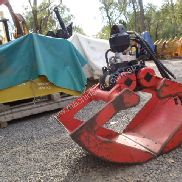 Used Hiab Excavator Attachments for sale - Grab Grapple Clamshell HIAB