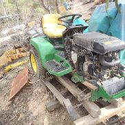 John Deere 355D Ride On Mower