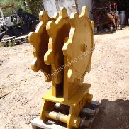 Hire Atlas Excavator Attachments - Compaction Wheel for Hire CW12
