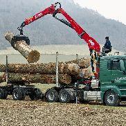 L270K forestry & recyling crane