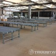 Lot of Roller conveyor belts