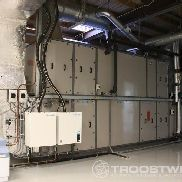 HVAC air treatment unit