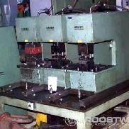 Punching unit for profile steel
