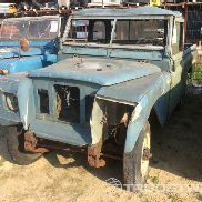 Land rover 109 pick up