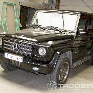 The Mercedes Benz G350