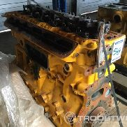 6-cylinder engine block with cylinder head for Liebherr L544