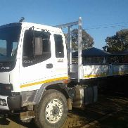 Isuzu Dropside With Palfinger PK15-500 Rear mounted Crane Truck