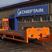 Chieftain Zugdeichsel 2 Axle High Speed ​​Anhänger