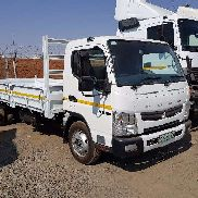 Fuso Dropside Canter FE8 150 TF - Automatic Truck