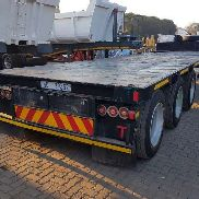 Road Hog Tridem Step Deck Flatdeck trailer