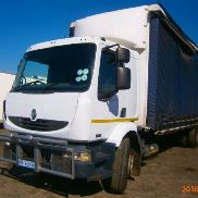 Renault Curtain side Midlum 270DCI Truck