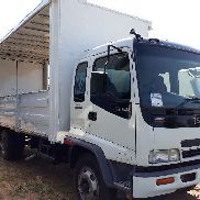 Isuzu Curtain side FSR800 Curtain Side with Dropside Doors Truck