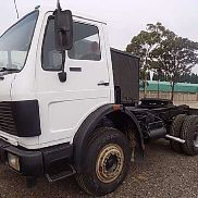 Mercedes Benz Single axle 1417 Single Axle Horse Truck-Tractor