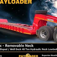 Payloader Lowbed Hydraulic - Abnehmbare Nec Trailer