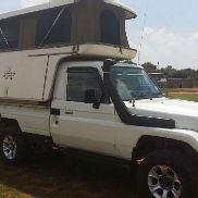 Toyota Used Toyota Land Cruiser 4.5 EFI Available LDVs & panel vans