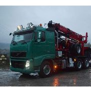 Volvo Fh 13 520 euros 5 wood for lumbering forest