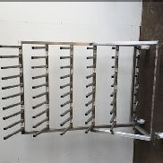 Syspal Stainless boot rack