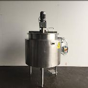Chemplant Stainless jacketed mixing vessel