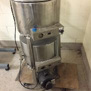 Savage 50/50 lb Stainless Steel Chocolate Melter - 80092