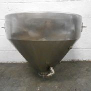 MISCELLANEOUS STAINLESS STEEL JACKETED HOPPER - M10200