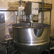 Lee model 50-CHD9MT 50 gallon stainless steel Double Action Kettle - 79355
