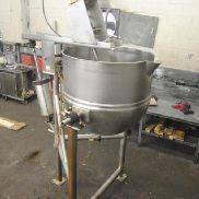Lee model 125-CHD7 125 Gallon Stainless Steel Tilting Cooking & MIxing Kettle - 77812