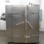 Caisa stainless steel double door oven. - M10737