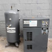 Atlas Copco model SF air compressor - M10905