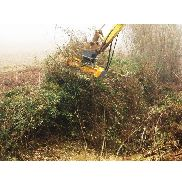TE 100 REV FORESTAL for grinding head for mini excavator between 6 and 12T