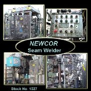 Used NEWCOR Seam Welder w/Chiller | Universal Tube & Rollform Equipment Corporation