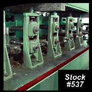 "TUREK & HELLER Tube Mill For Sale, 2"" OD x .110"" Wall"