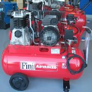 BICYLINDRICAL Belt Compressor 50 Liters - Fini MK102 50 2M (2HP)