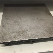 Guiding plate made of cast iron 300 x 300 x 20 mm solid