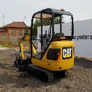 2013 CAT 301.4C Mini Excavator, OROPS, Rubber Tracks, Backfill Blade, Swing Boom, Hydraulics, Expanding Undercarriage, Expanding Blade, 3 Buckets - CAT3014CLLJK00955
