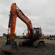 2017 Doosan DX225LC 600mm Pads, Piped c / w A / C (500 Stunden) - DHKCEBADHH0007923