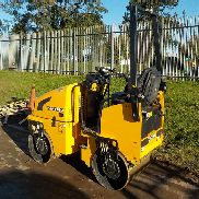 "2012 JCB Vibromax VMT160 Double Drum Vibrating Roller c/w Roll Bar, 31"" Drums (228 Hours) - GATVT160P02803459"