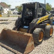 2010 New Holland L170 Skidsteer Lader, offene Kabine, Piped, c / w Eimer, Q / C - NAM415451