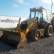 CAT 416C 4WD Backhoe Loader c/w Cab, A/C, Standard Hoe - 4ZN01374