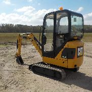 2013 CAT 301.4C Mini Excavator, Cab, Rubber Tracks, Backfill Blade, Swing Boom, Hydraulics, Aux. Hydraulics c/w Expanding Undercarriage, 3 Buckets - CAT3014CELJK01221