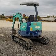 IHI 30NX Mini Excavator, Cab, Rubber Tracks, Backfill Blade, Swing Boom, Hydraulics - WE000469