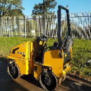 "2011 JCB Vibromax VMT160 Double Drum Vibrating Roller c/w Roll Bar, 31"" Drums (379 Hours) - GATVT160A02803128"