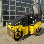 Unused 2017 Bomag BW120AD-5 Double Drum Vibrating Roller c/w Roll Bar (2 Hours) - 8618804*****