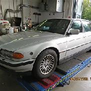 1 BMW 750i (E38) Special Protection
