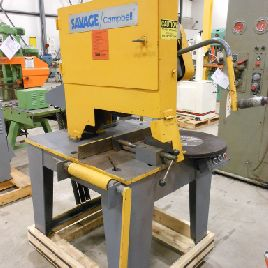 GEBRAUCHTES SAVAGE CAMPBELL MODELL 2B DRY ABRASIVE CUT-OFF SAW, 20 ""
