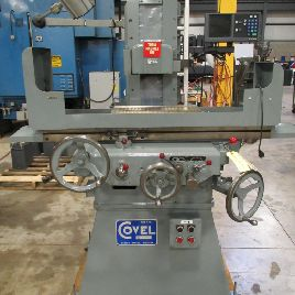 COVEL MODEL 10H HYDRAULIC 2-AXIS SURFACE GRINDER, 6″ X 18″