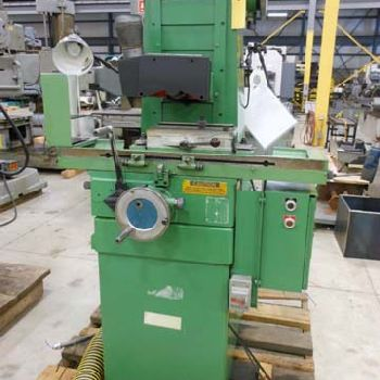 USED BROWN & SHARPE MODEL MICROMASTER 612 HAND FEED SURFACE GRINDER, 6″ X 12″