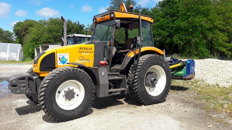 Renault Ergos 466 Traktor (OHNE MÜHLE)