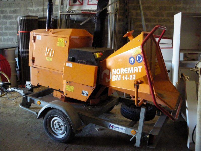 NORMAT BM14-22 SHREDDER