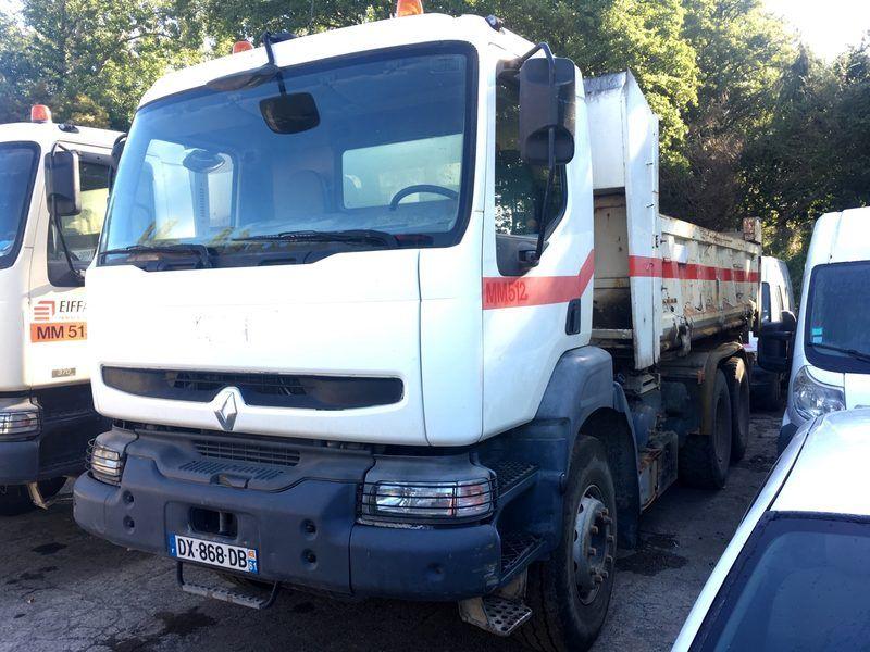 Träger Renault Kerax 6x4 BIBENNE- DX868DB (MM512)