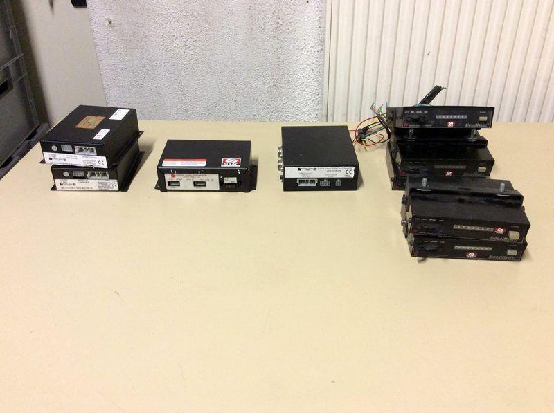9 SIRAC-Steuerboxen